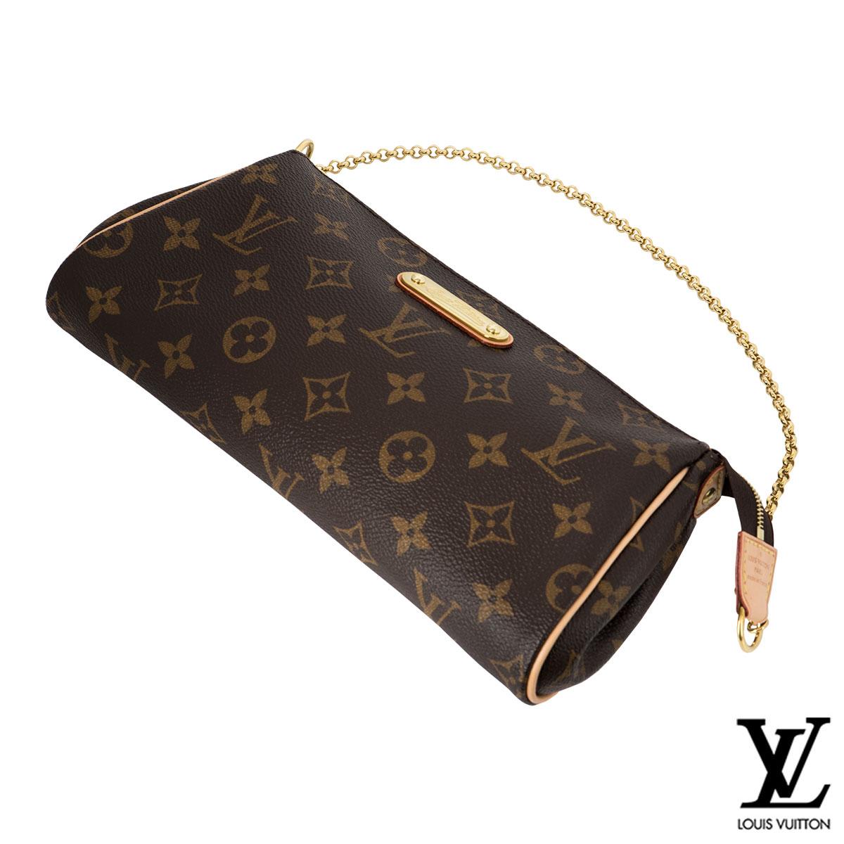 Louis Vuitton Monogram Eva Clutch Bag